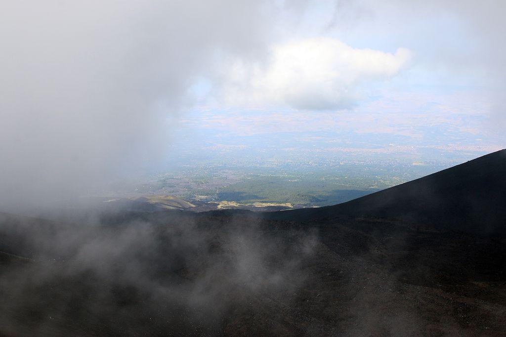 Blick ins Tal von ca. 2.900 Metern Höhe