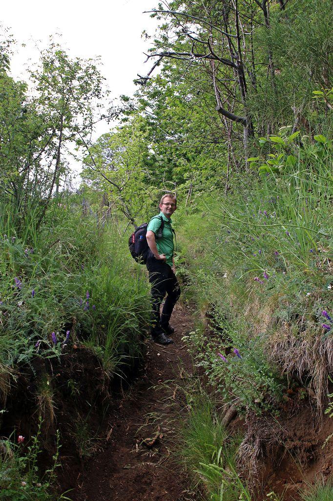 Wanderweg zum Monte Zoccolaro