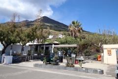 Tankstelle auf Stromboli