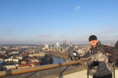 Blick auf Vilnius