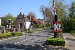 Überquerung Bahnübergang