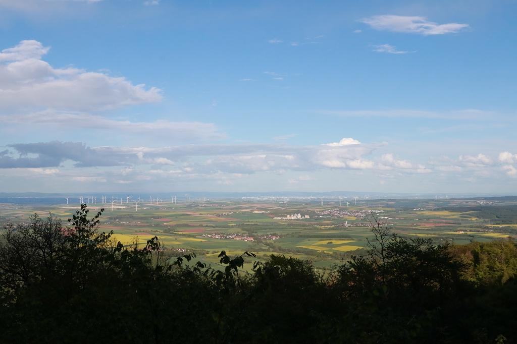 Aussichtspunkt Hirtenfels auf dem Donnersberg