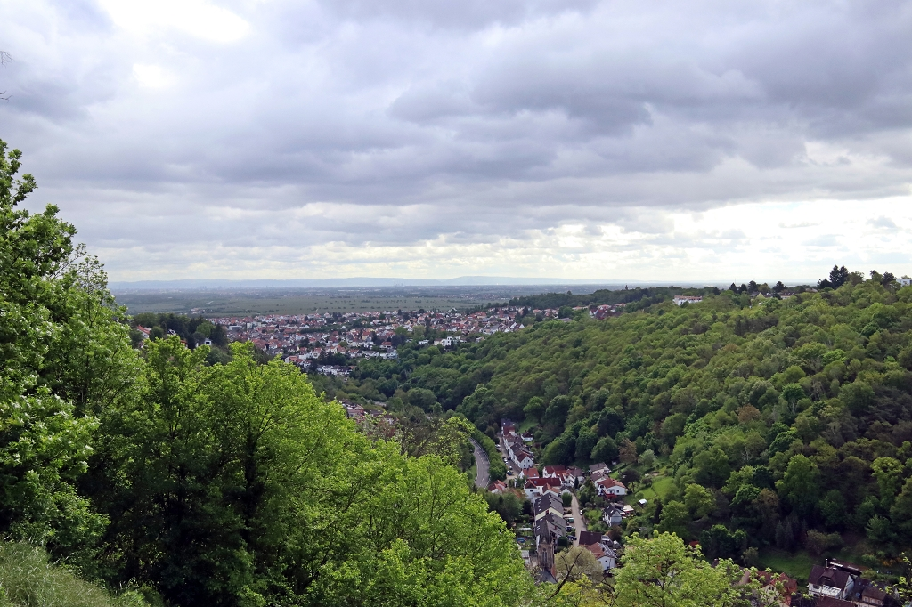 Aussichtspunkt an der Klosterruine Limburg