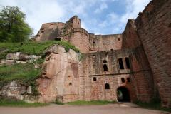 Von der Klosterruine Limburg zur Schlossruine Hardenburg - Hardenburg